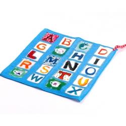 【taoru】ABC Book - 日本童巾 24x24 cm - 媽媽,我要唸英文字母給你聽囉 !